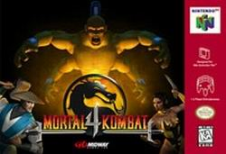 Mortal Kombat 4 (USA) Box Scan